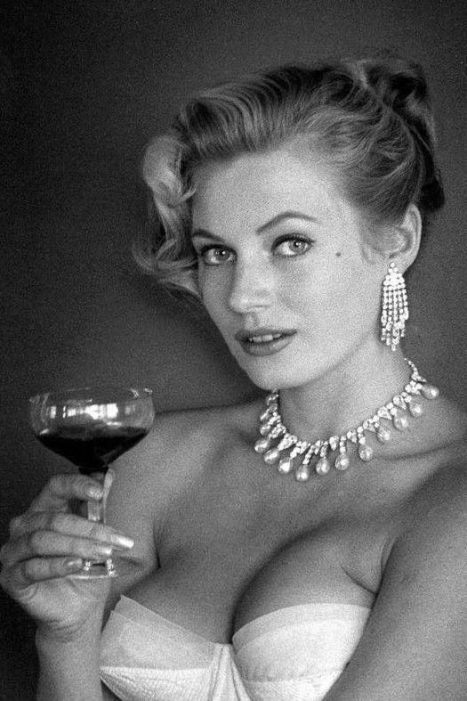 Anita Ekberg by Andre de Dienes, 1950s