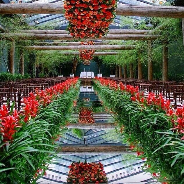 Mother of the Bride - Blog de Casamento e Dicas de Casamento para Noivas - Por Cristina Nudelman: Jardim Suspenso - Decoração com Flores Suspensas- Quando Menos Não é Mais!