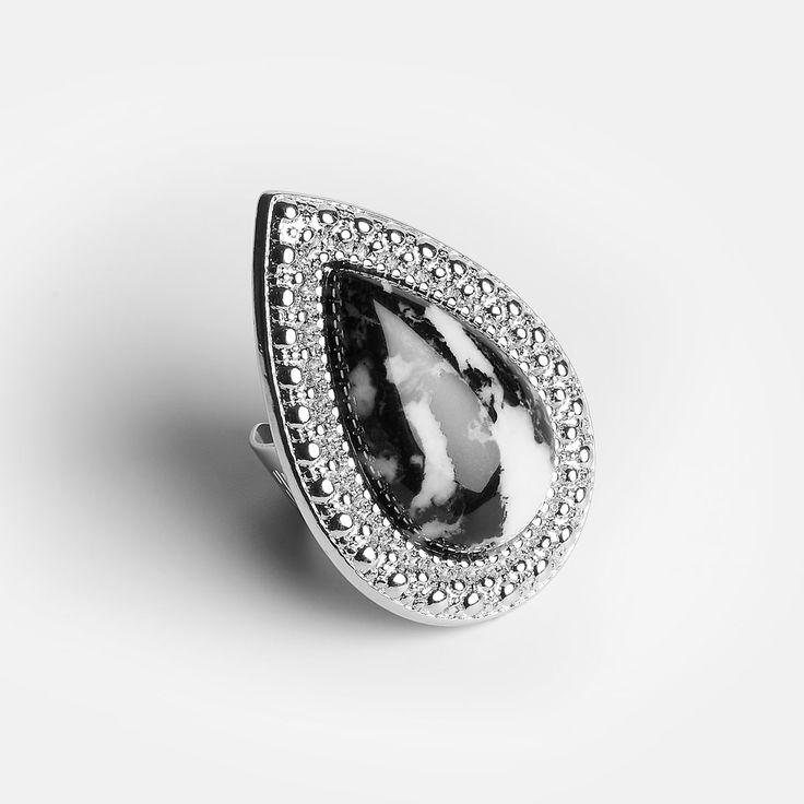 Bohemian Bardot Ring - Dalmation - Ring - Bb