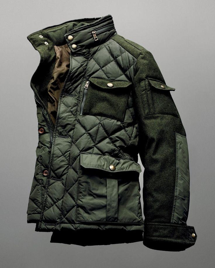 "beyondfabric: ""Moncler x Bergdorf Goodman 111th Aniversary Rodriguez Field Jacket """
