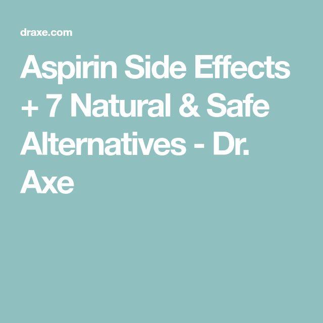 Aspirin Side Effects + 7 Natural & Safe Alternatives - Dr. Axe