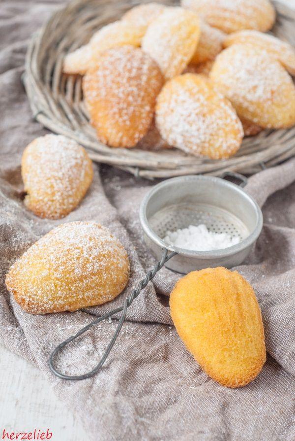 Madeleines sind kleine Kuchen. Nach diesem Rezept sind sie ganz leicht selbst gebacken. Ihr braucht lediglich ein Madeleines-Blech. Sie schmecken göttlich!
