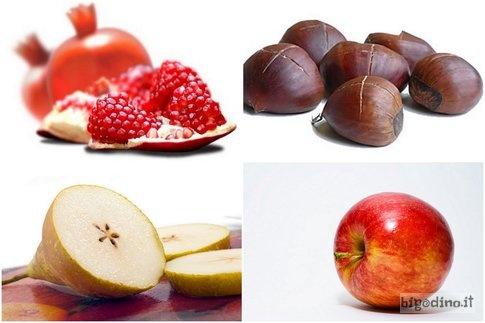 Frutta e verdura di stagione da comprare nel mese di ottobre #cucina #cibo #alimentazione