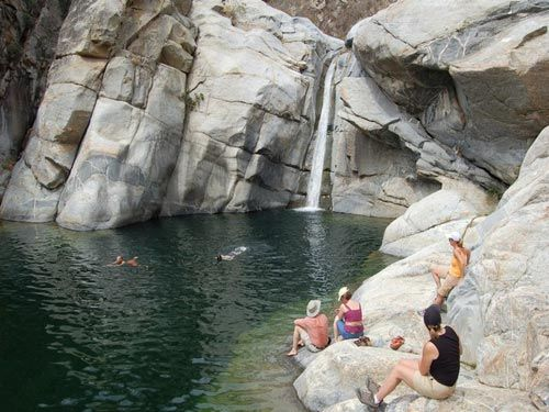 Family activities in Cabo San Lucas: Santiago Hiking & Sierra Laguna Waterfall