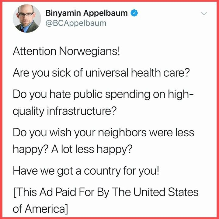 does norway have universal health care