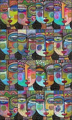 """Sixteen Women"" by Sandra Silberzweig"