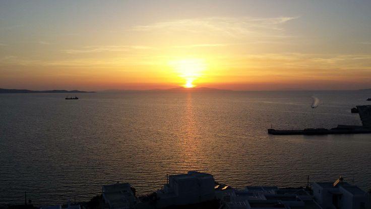 magnifique sunset!!!