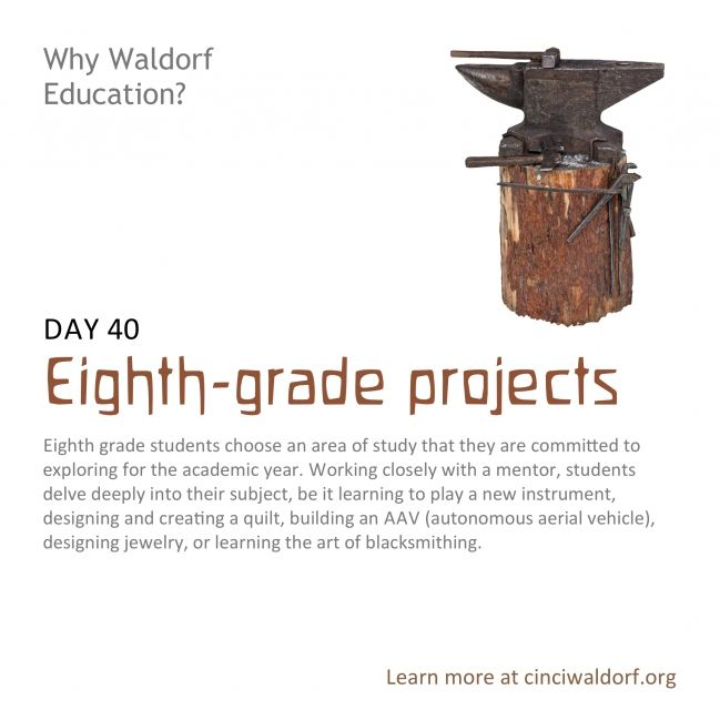 Day 40: Eighth-grade projects