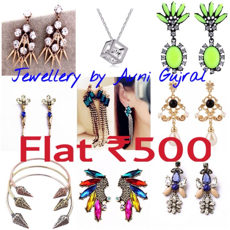 The Flat ₹500 Sale stating from 2nd-8th November at the Blind School Mela, New Delhi from 10:30am-8pm. Offer valid till stocks last. Hope to see you there. #jewellerybyavnigujral #megasale #₹500only @jewellery_by_avni_gujral