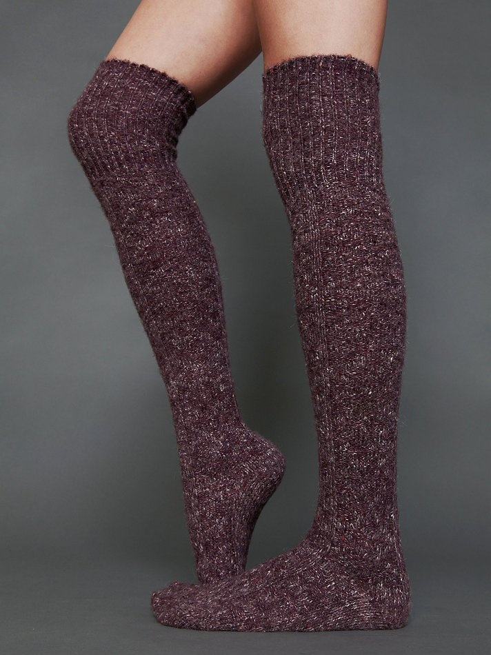 a855db1f3 Free People Cozy Sweater Tall Sock, $20.00 | stylez in 2019 | Tall socks,  Socks, Sock shoes