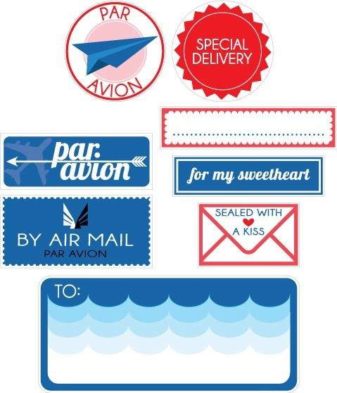 24 best Mail Sticker images on Pinterest