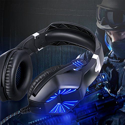 FarCry 5 Gamer  #Stereo #Gaming #Headset for #PS4, #Xbox One, #Nintendo #Switch, PC- #Noise #Reduction #Surround #Bass Over #Ear #Headphones with #Mic, #LED #Lights, #Volume #Control for #Desktop, #Laptop, #Computer, #Tablets, #Smartphone   Price:     A must have #stereo #headset for all gamers Experience exciting #gaming world You may find its specifications below: Specification  Product Weight: 0.73 lbs (0.33 KG)  Cord Length: 87 in (2.2 M)  Max Input Power: 20 mw  Impedanc