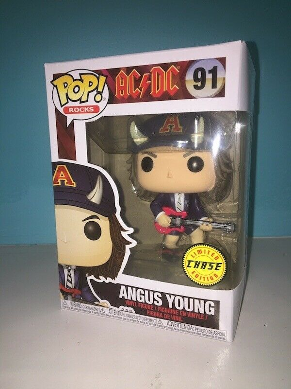 AC//DC Funko POP Vinyl Angus Young CHASE