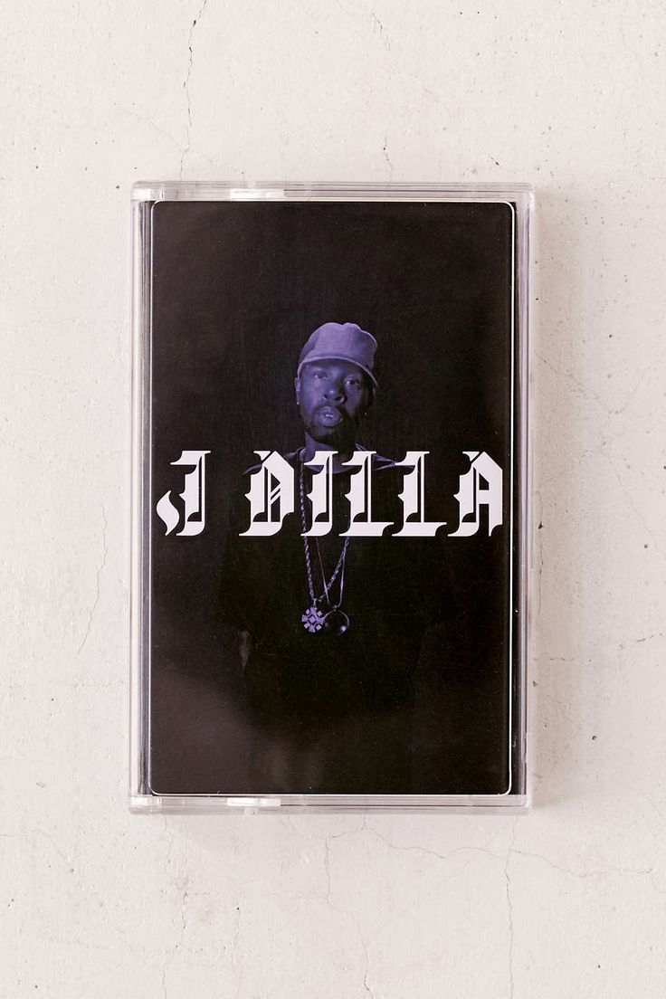J Dilla - The Diary Cassette Tape