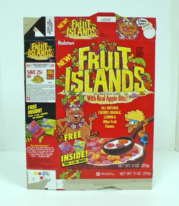 121 Best Images About Vintage Cereal Boxes On Pinterest