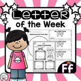 Letter of the Week - Ff