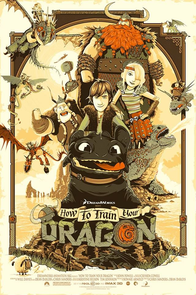 How to train your dragon 2 by Patrick Connan