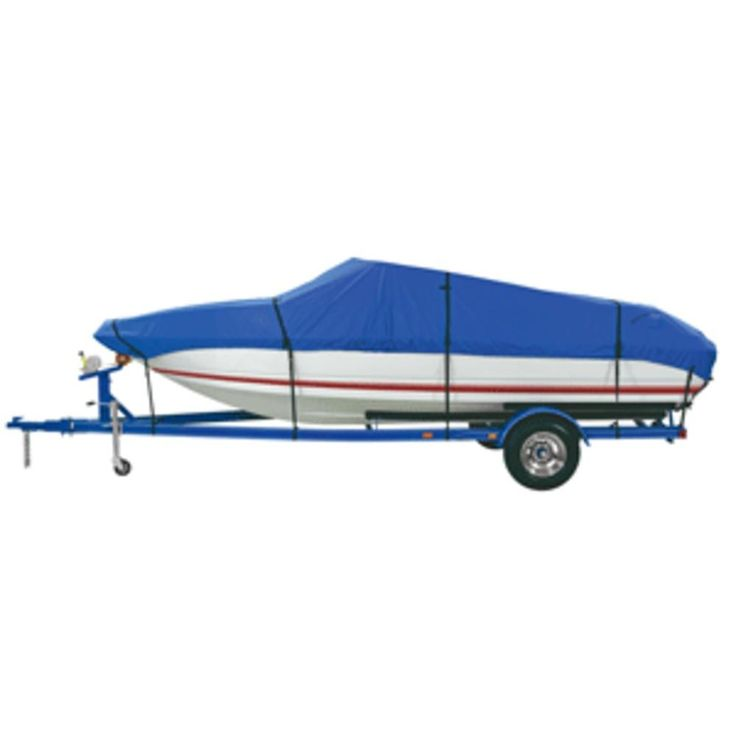 Dallas Manufacturing Co. Polyester Boat Cover C 16-18.5 Fish & Ski and Pro-Style Bass Boats - Beam Width to 94