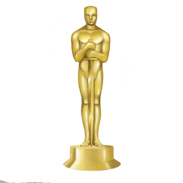 oscar trophy clipart | Downloads | Bulletin board ideas ...
