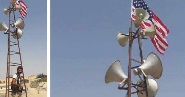 Οι ΗΠΑ ύψωσαν την Αμερικανική σημαία στην Manbij