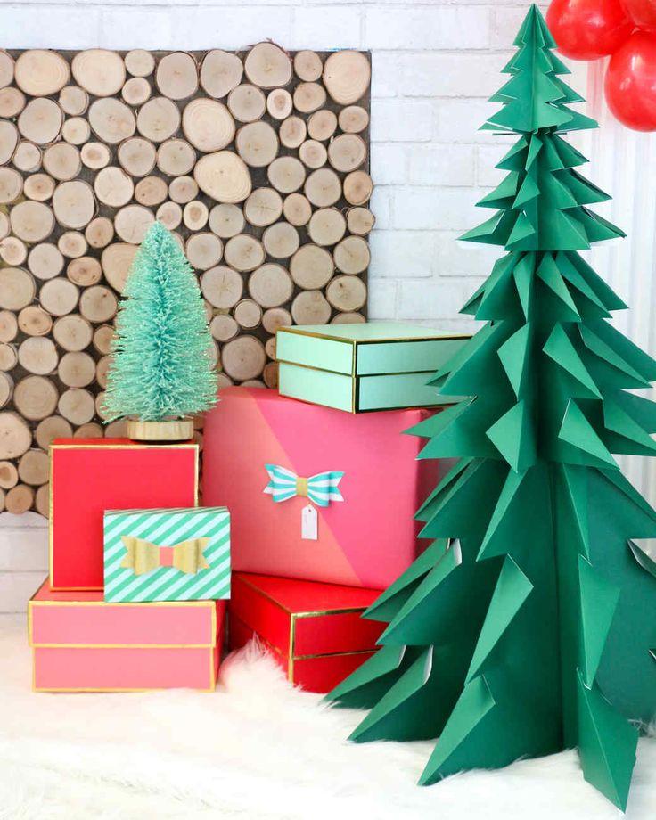 Christmas Tree Made By Paper: Origami Christmas Tree, Diy