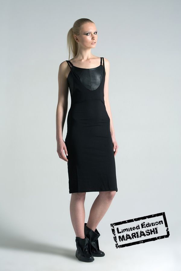 Dress with leather top (Limited edition)