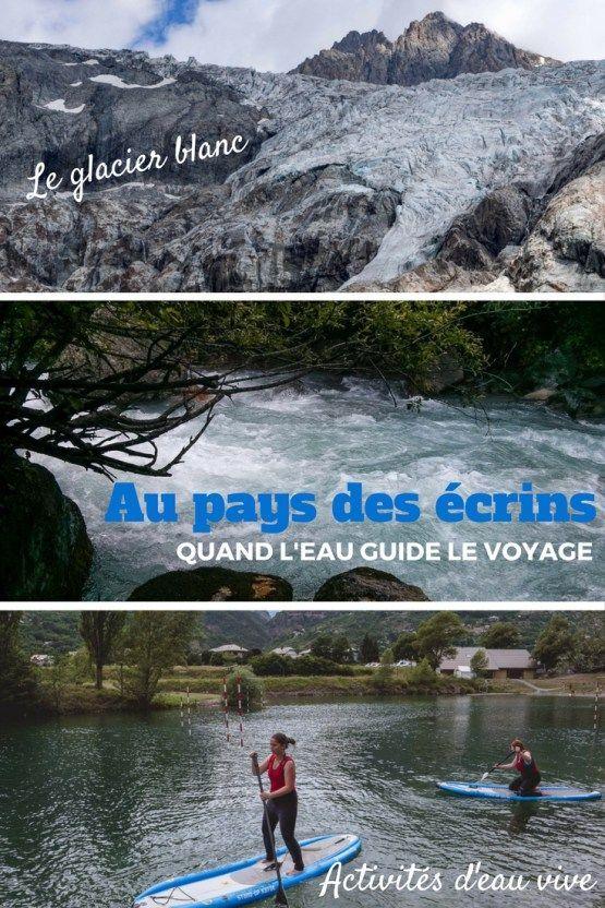 Randonnées, activités en eaux vives, que faire dans le pays des écrins. Son parc national, le glacier blanc et de nombreuses activités d'eau vive.