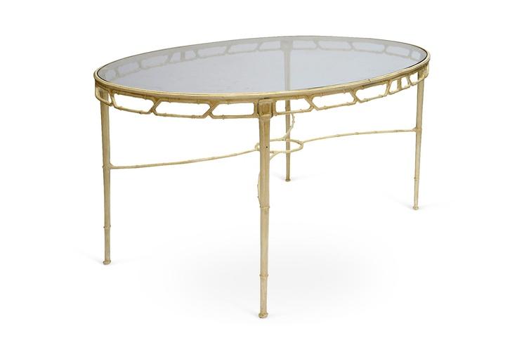 Michael Claybaugh - Brown Jordan Bamboo-Style Dining Set