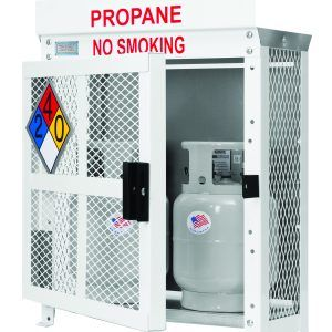 Propane Cylinder Storage Cabinets