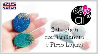 Chalk Pastels , Cernit Translucent and Golden Leaf ~ Polymer Clay Tutorials