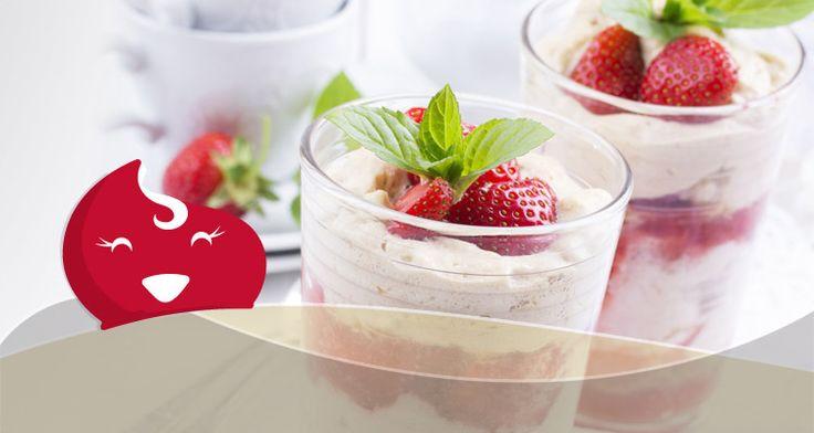 #Oroscopo Dolce - La coppa allo yogurt e frutti rossi dei Pesci - ChiacchiereDolci.it #oroscopodolce #ricette #ricetta #ricettedolci