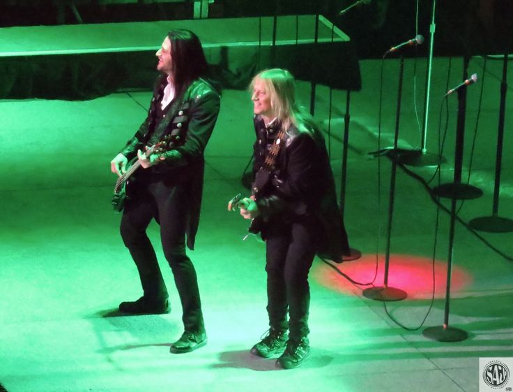 David Z & Chris Caffery of Trans-Siberian Orchestra @ Greensboro Coliseum!