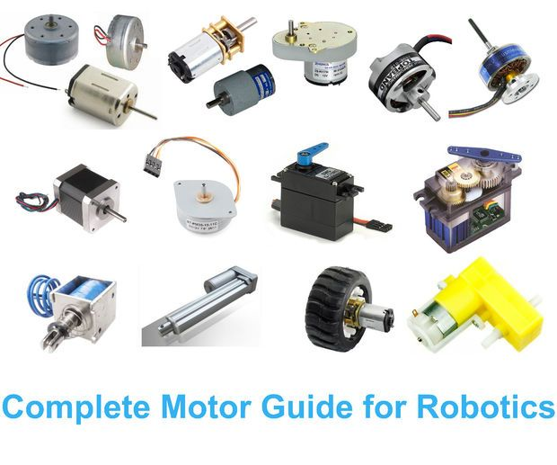 Picture of Complete Motor guide for Robotics
