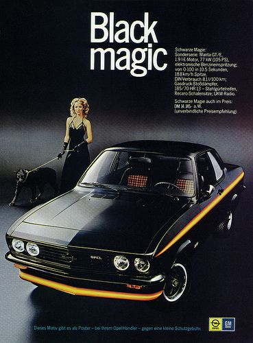 Opel Manta A (1975) GTE Black Magic