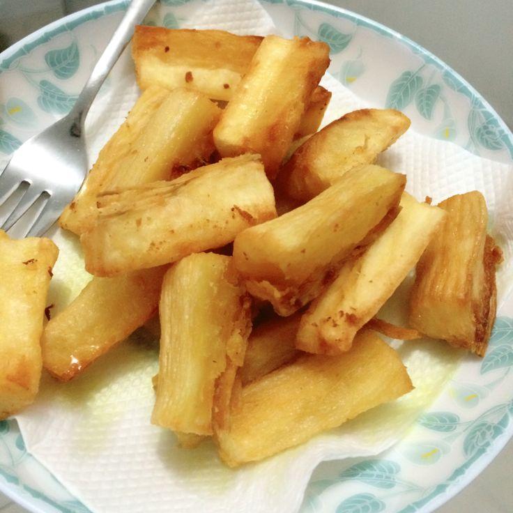 Singkong Goreng #fried #cassava