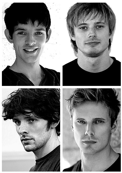 OMG BREATHE .........., don't forget to breathe, in out in out Colin Morgan and Bradley James 2008 - 2013