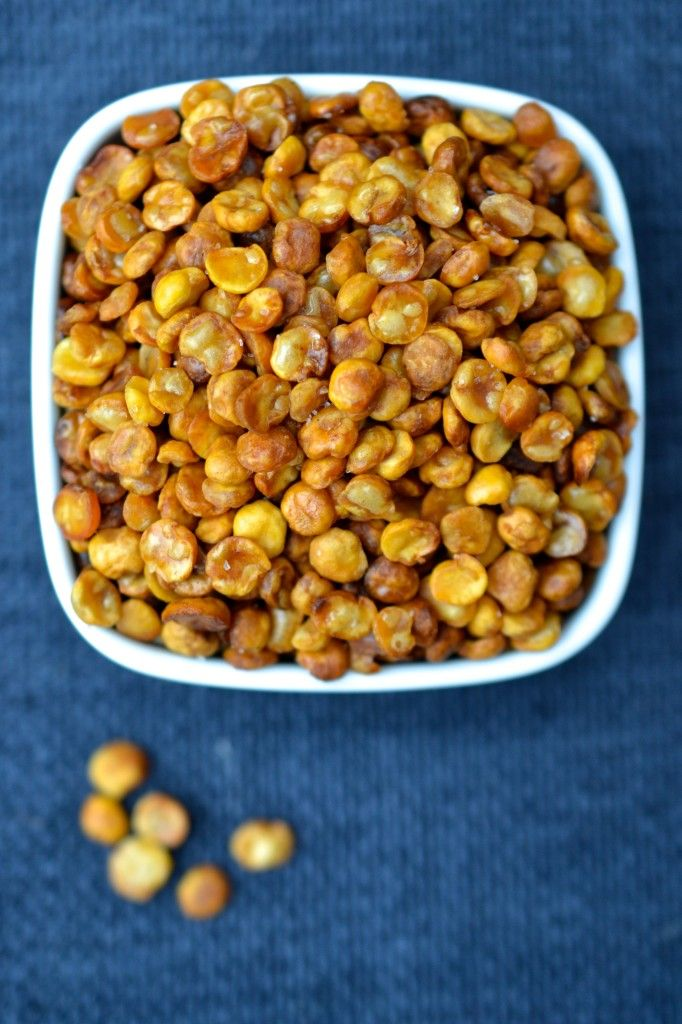 crunchy split pea bites (Martha Stewart Hors D'oeuvres Handbook)