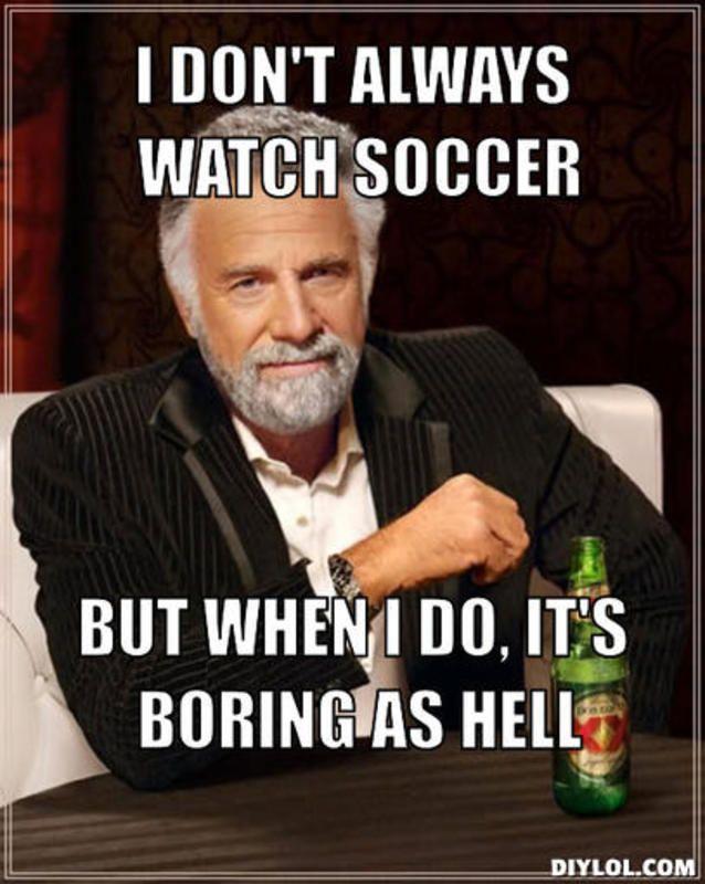 Soccer Boring