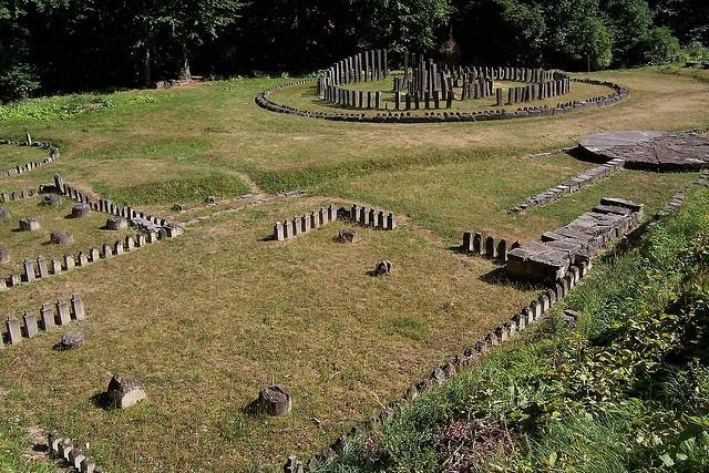 Sarmisegetuza regia the capital of Dacia Dacian ruins in Romania #World Heritage