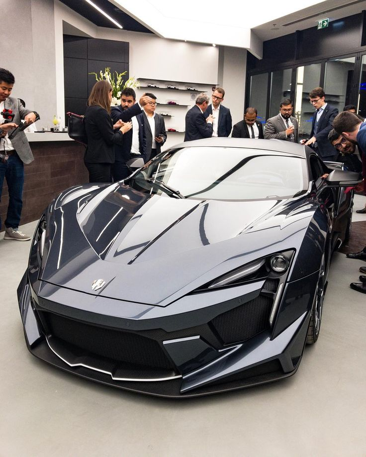 W Motors unveils the production version of the Fenyr SuperSport engine trend