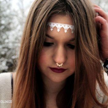Hvite tatoveringer: Aztec mønster