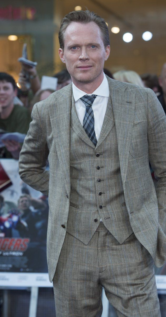 Paul Bettany, London premiere of Avengers: Age of Ultron