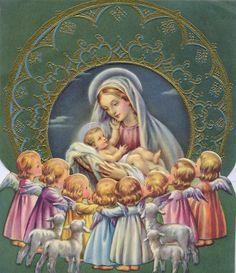 """""""Dejen que los niños se acerquen a mi"""" dijo Jesús… Y María nos dice: """"¿NO ESTOY AQUI, YO, QUE SOY TU MADRE? ¿No estás bajo mi sombra y resguardo?¿NO SOY, YO LA FUENTE DE TU ALEGRÍA? """""""