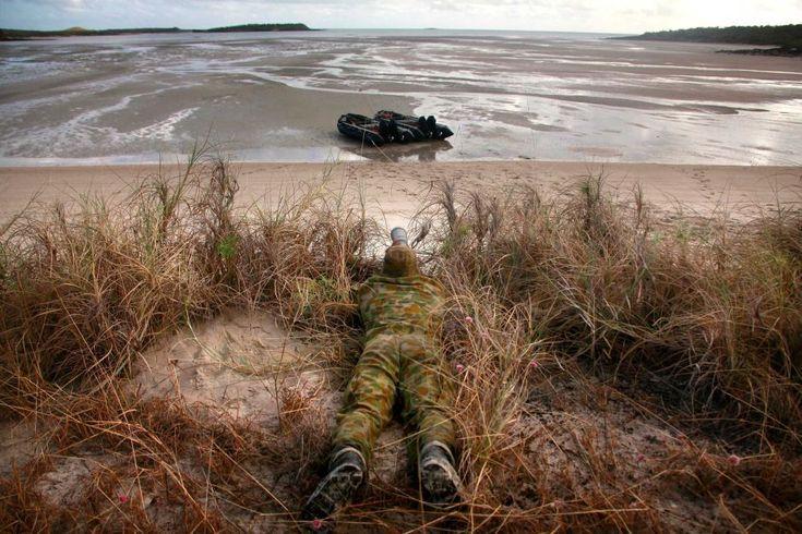 NORFORCE on patrol in Arnhem Land.