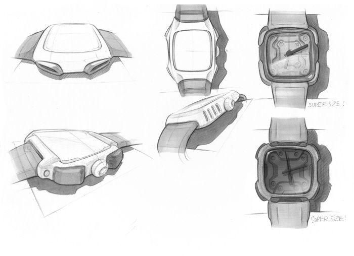Men's Watch Design - in progress by Neo Nguyen at Coroflot.com