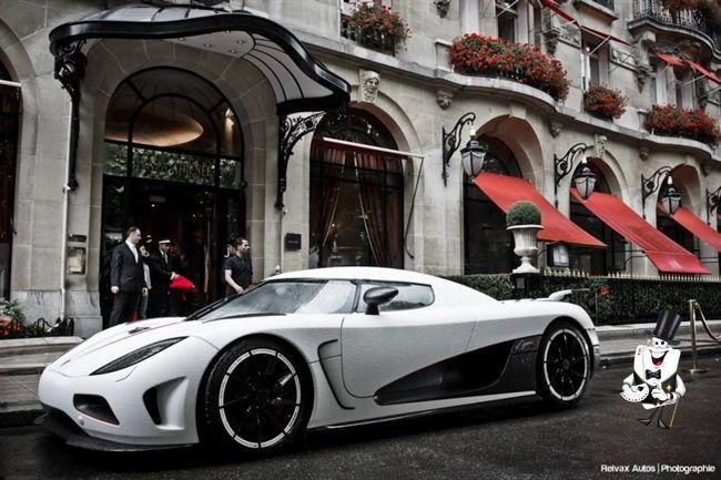 The color white!