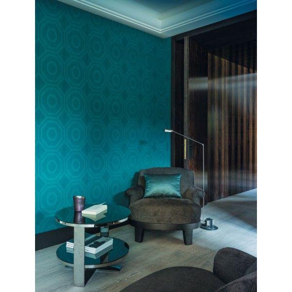Les 25 meilleures id es concernant papier peint bleu for Papier peint chambre parents