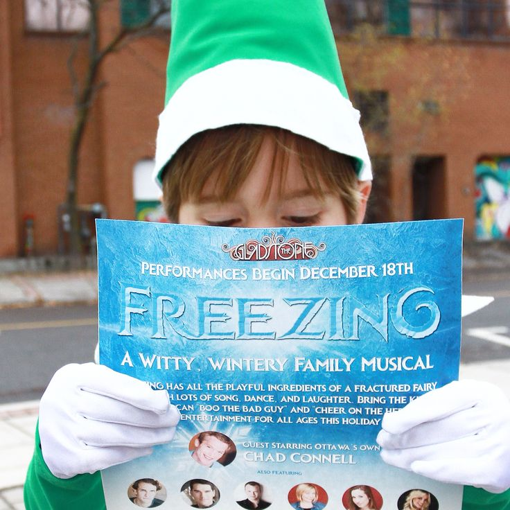 Have you heard? Tickets are now on sale for Freezing - A Witty, Wintery Family Musical presented at the Gladstone Theatre in Ottawa!! Check out www.itsfreezinginottawa.com for more details!! #ottawa #myottawa #itsfreezinginottawa #everydayottawa #selfieontheshelfie www.itsfreezinginottawa.com #ottawatourism@ottawatourism