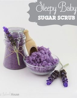 DIY Scrub made to help you relax and fall asleep!