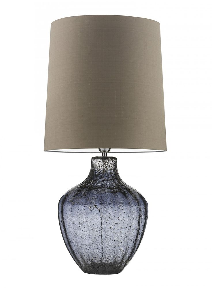 Vivienne Large Smoke Table Lamp - Heathfield & Co